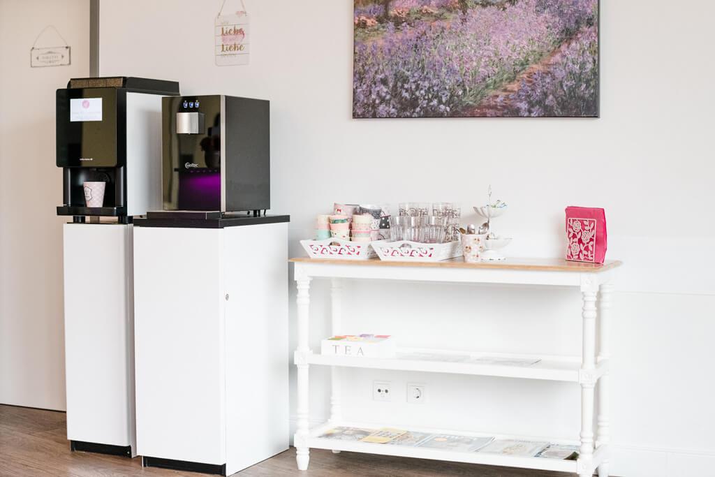 Kaffeemaschine bei Logopädie Nina Fallier